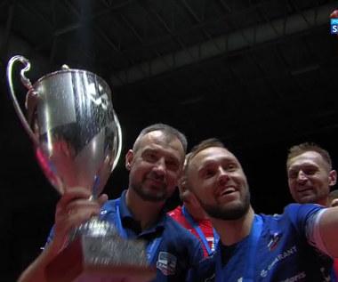 ZAKSA - Trentino. Grupa Azoty ZAKSA Kędzierzyn-Koźle wygrała Ligę Mistrzów! Siatkarze odebrali trofeum (POLSAT SPORT). Wideo