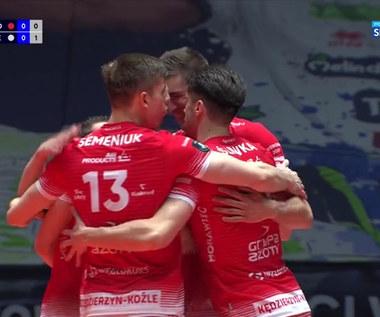 ZAKSA - Trentino. Pierwszy punkt ZAKSY w finale Ligi Mistrzów (POLSAT SPORT). Wideo