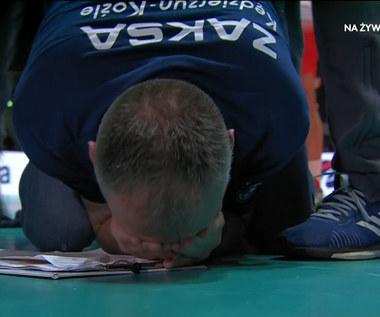 ZAKSA - Trentino. Zwycięska zagrywka ZAKSY! Wideo