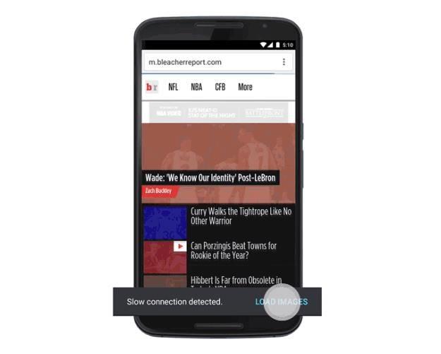 Zaktualizowana wersja Chrome wykrywa jakość połączenia i może ograniczyć transfer danych /materiały prasowe