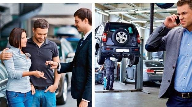 Zakup i serwis używanego samochodu /Motor