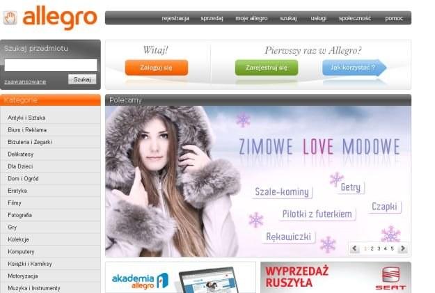 Zakupy na Allegro będą dostępne dla osób, które nie posiadają konta w serwisie /materiały prasowe