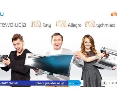 Zakupy na raty - nowa usługa Allegro
