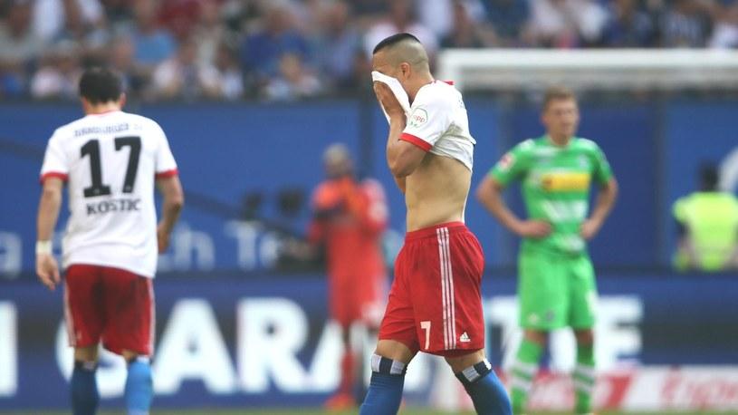 Załamani gracze Hamburgera SV /Getty Images