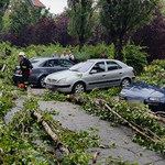 Załamanie pogody na południu Polski. Kilkaset interwencji strażaków