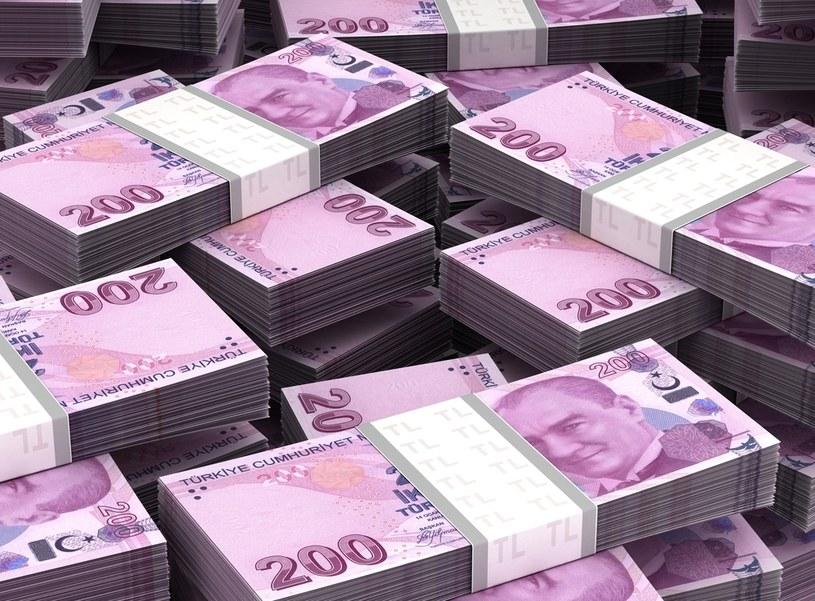 Załamanie tureckiej liry uderzy w inne waluty? /123RF/PICSEL