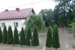Zalane domy na Podkarpaciu