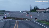 Zalane drogi i zatopione auta. Sztorm Barry nie ominął Luizjany