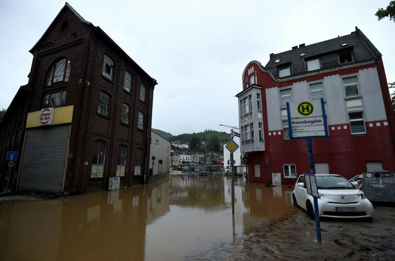 Zalane miasto Hagen na zachodzie Niemiec /INA FASSBENDER / AFP /East News