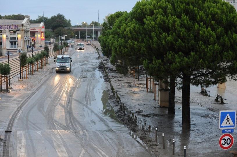 Zalane Montpellier na południu Francji /AFP