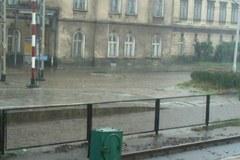 Zalane ulice, podmyte tory. To skutki ulewy w Czechowicach-Dziedzicach