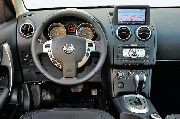 Zaledwie co dziesiąty Qashqai ma skrzynię automatyczną. W wersji benzynowej to przekładnia bezstopniowa CVT, a w przypadku diesla – hydrokinetyczna. /Motor