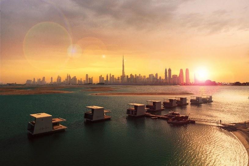 Zaledwie cztery kilometry od wybrzeża Dubaju powstaje projekt małej Europy /materiały prasowe