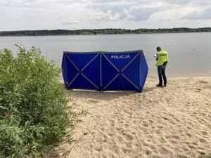 Zalew Cieszanowicki: Na plaży znaleziono ciało 66-latka