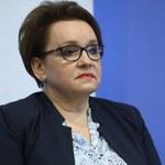 Zalewska: Dawno nie było takiego wsparcia i szacunku dla pracy nauczycieli
