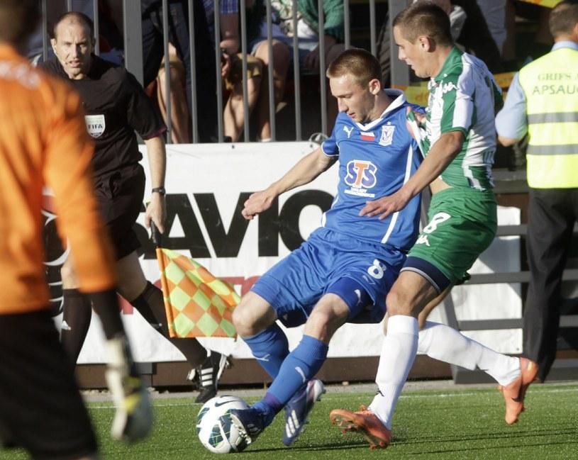 Żalgiris sensacyjnie wygrał z Lechem 1-0 /PAP/EPA