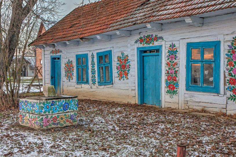 Zalipie to niewielka wieś położona na Powiślu Dąbrowskim w Małopolsce /©123RF/PICSEL