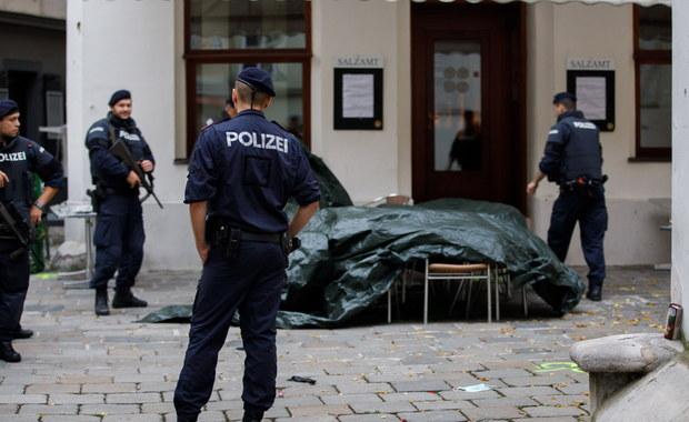 """Żałoba narodowa w Austrii po ataku terrorystycznym. Zamachowiec był """"sympatykiem"""" ISIS"""