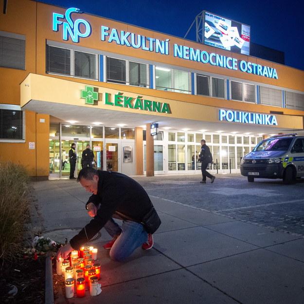 Żałoba w Ostrawie /LUKAS KABON /PAP/EPA