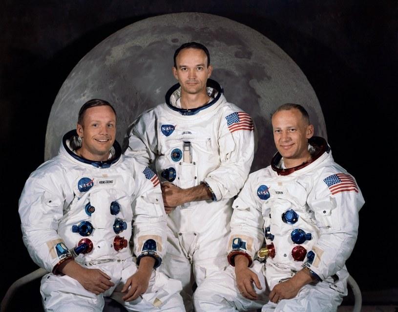 Załoga Apollo 11 (od lewej): Neil Armstrong, Michael Collins, Buzz Aldrin /NASA