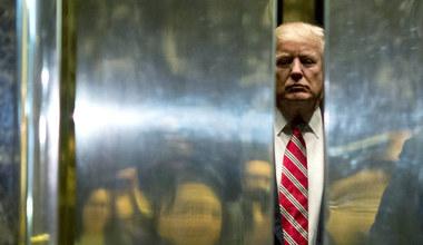Żałosny koniec Trumpa
