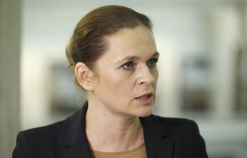 Założenia przedstawiła w Sejmie pełnomocniczka Komitetu Barbara Nowacka /Stanisław Maszewski  /Reporter