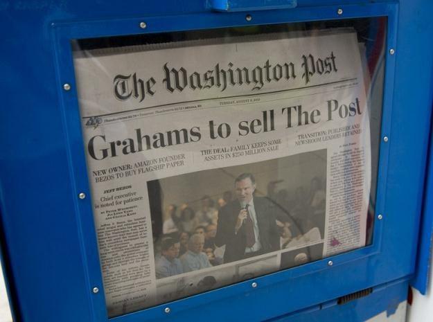 """Założony 136 lat temu """"Washington Post"""" uważany jest za jeden z czołowych organów prasowych w USA /AFP"""