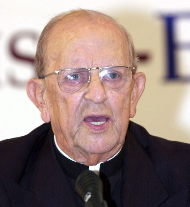 Założyciel zgromadzenia Legioniści Chrystusa ksiądz Marcial Maciel Degollado
