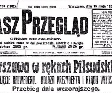 Zamach majowy 1926 r.: Dobre powody i zmarnowane szanse