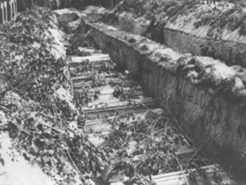 Zamach majowy 1926 r. Wspólna mogiła żołnierzy walczących po dwóch stronach bratobójczego konfliktu /Archiwum Tomasza Basarabowicza