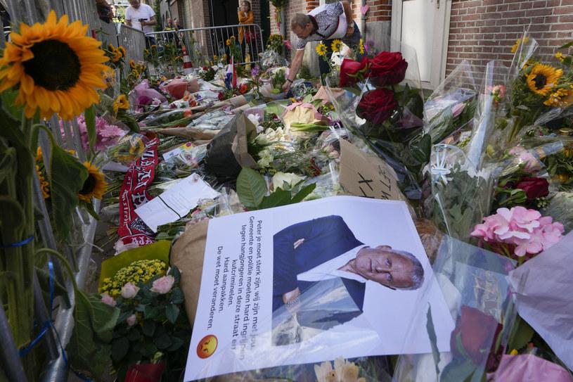 Zamach na dziennikarza w Holandii /AP/Associated Press/East News /East News