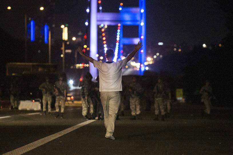 Zamach stanu w Turcji /AFP