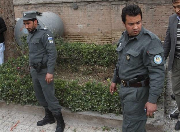 Zamach w Afganistanie /JALIL REZAYEE    /PAP/EPA