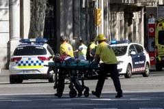 Zamach w Barcelonie. Chaos na ulicach, są ofiary śmiertelne