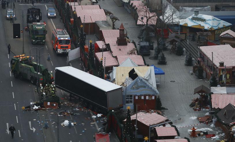 Zamach w Berlinie /AFP