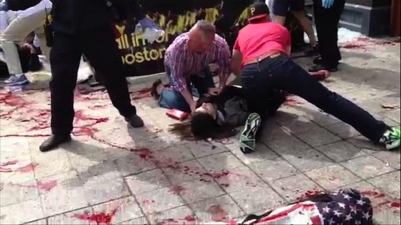 Zamach w Bostonie /AFP