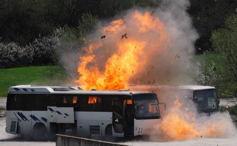 Zamach w Burgas /AFP