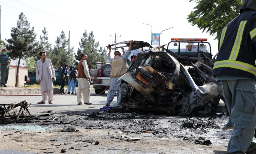 Zamach w Kabulu /ANADOLU AGENCY /Getty Images