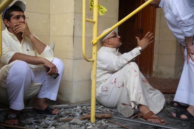 Zamach w Kuwejcie /AFP