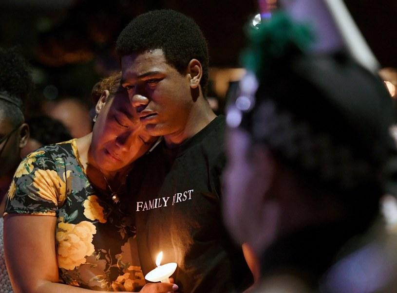 Zamach w Las Vegas wstrząsnął mieszkańcami miasta /AFP