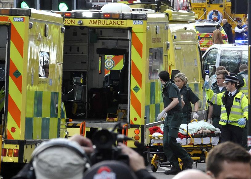 Zamach w Londynie /AFP