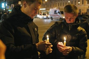 Zamach w metrze w Sankt Petersburgu. Są ofiary