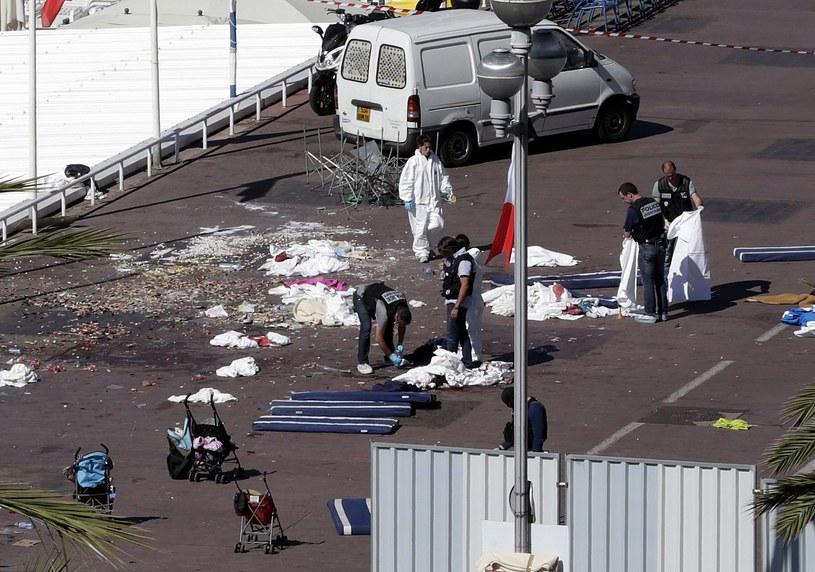 Zamach w Nicei /ALBERTO ESTEVEZ /PAP/EPA