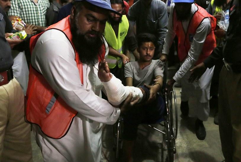 Zamach w Pakistanie /PAP/EPA