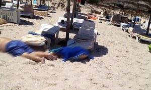 Zamach w Tunezji: Napastnicy strzelali na plaży