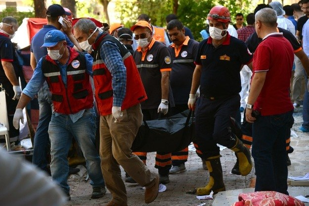 Zamach w Turcji /AFP