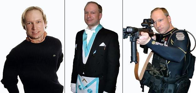 Zamachowiec Anders Behring Breivik /AFP
