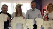 Zamachowscy świadkami na ślubie