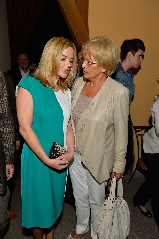 Zamachowska z mamą (2014 r.) /Tricolors /East News