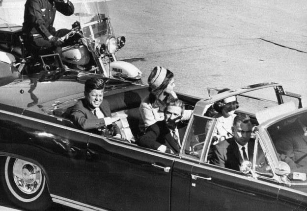 Zamachu na prezydenta Kennedy'ego dokonano 22 listopada 1963 r. /AFP